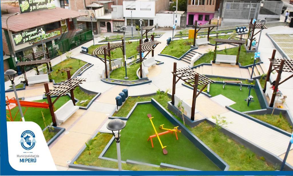 ¡Inauguramos el parque del sector A!