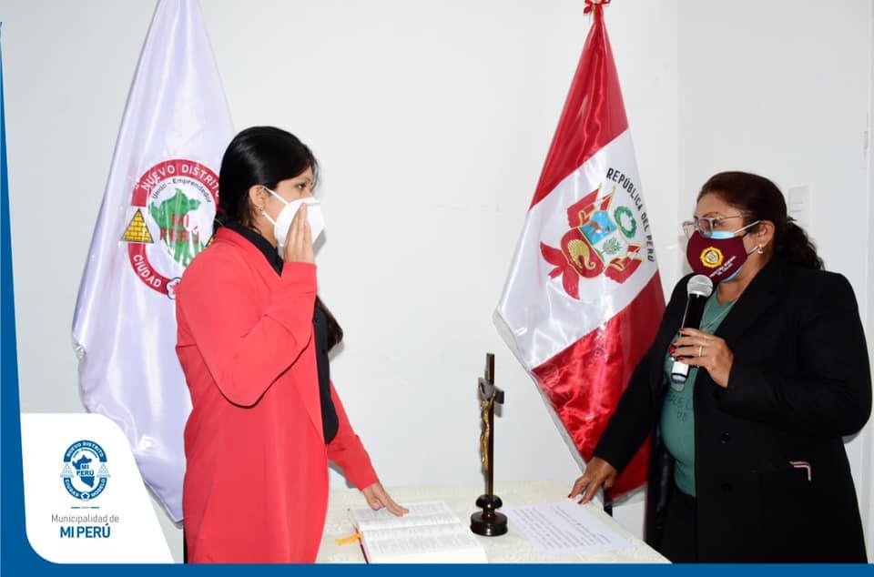 Alcaldesa juramentó como presidenta de CODISEC